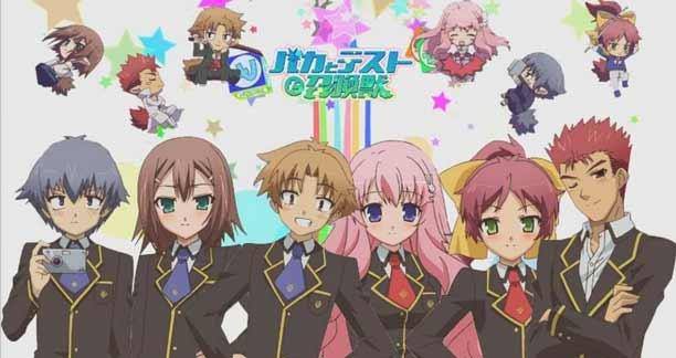 Anime Mirip Nisekoi Terbaik - Baka to Test Shoukanjuu