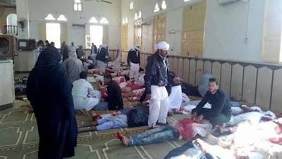 تفجير مسجد العريش