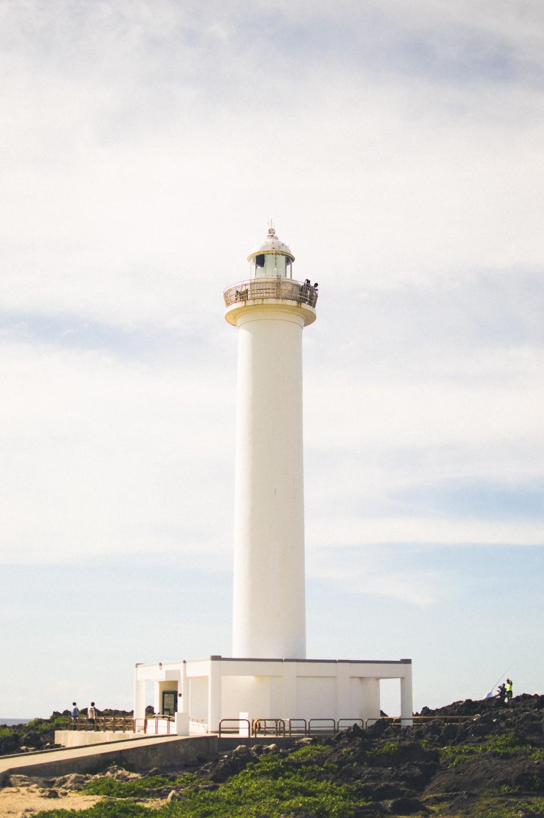 cape zanpa zampa yomitan okinawa japan lighthouse