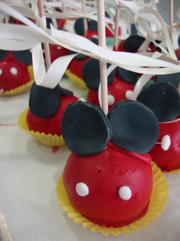 Martapino Postres Cakes Pops De Mickey