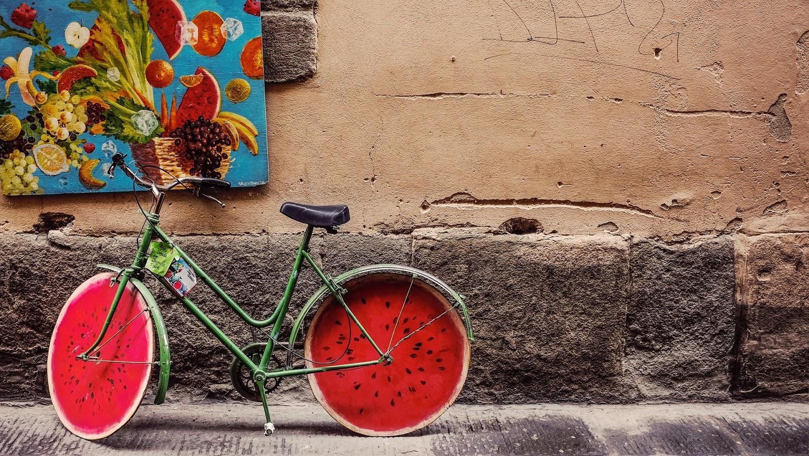 w czym na rower?