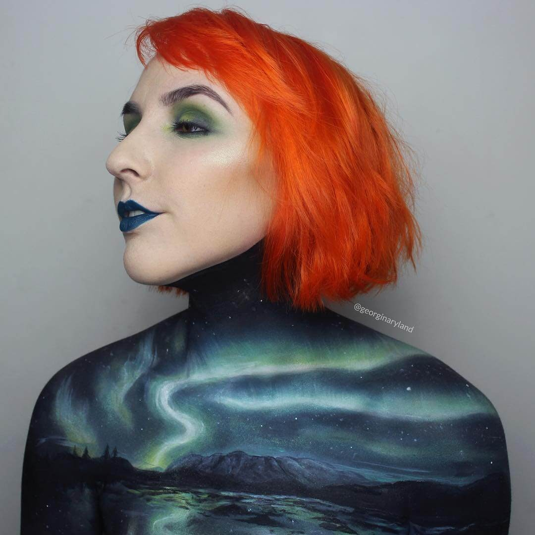 08-Northern-Lights-Aurora-Georgina-Ryland-Mehron-Makeup-Body-Painting-www-designstack-co