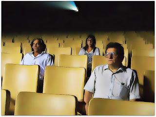 Argentino Vargas, no filme 'Fantasma' - à esquerda na imagem