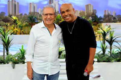 Carlos Alberto e Rick (Crédito: Lourival Ribeiro/SBT)