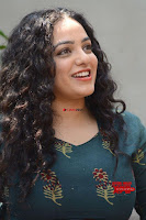 Nithya Menon promotes her latest movie in Green Tight Dress ~  Exclusive Galleries 023.jpg