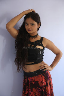 Shriya Vyas in a Tight Backless Sleeveless Crop top and Skirt 63.JPG