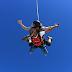 Banky W goes sky diving in Dubai (PHOTOS)