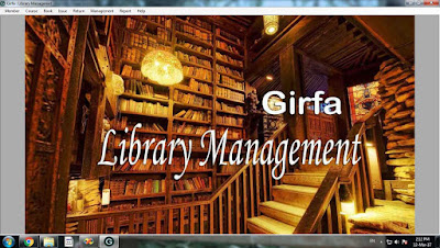 Library Management Banner