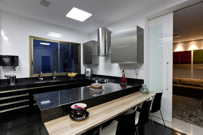 Construindo Minha Casa Clean 25 Cozinhas com Bancadas para Refeições Rápidas! # Bancada Cozinha Luciane