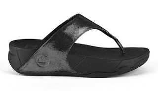 FitFlop Lulu Casual Shimmer Sandals