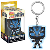Pop! Keychains: Black Panther Blue Black Panther