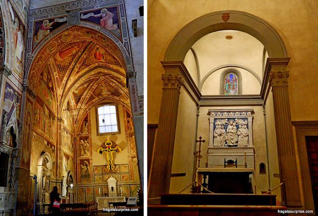 Capelas da Basílica de Santa Croce, Florença