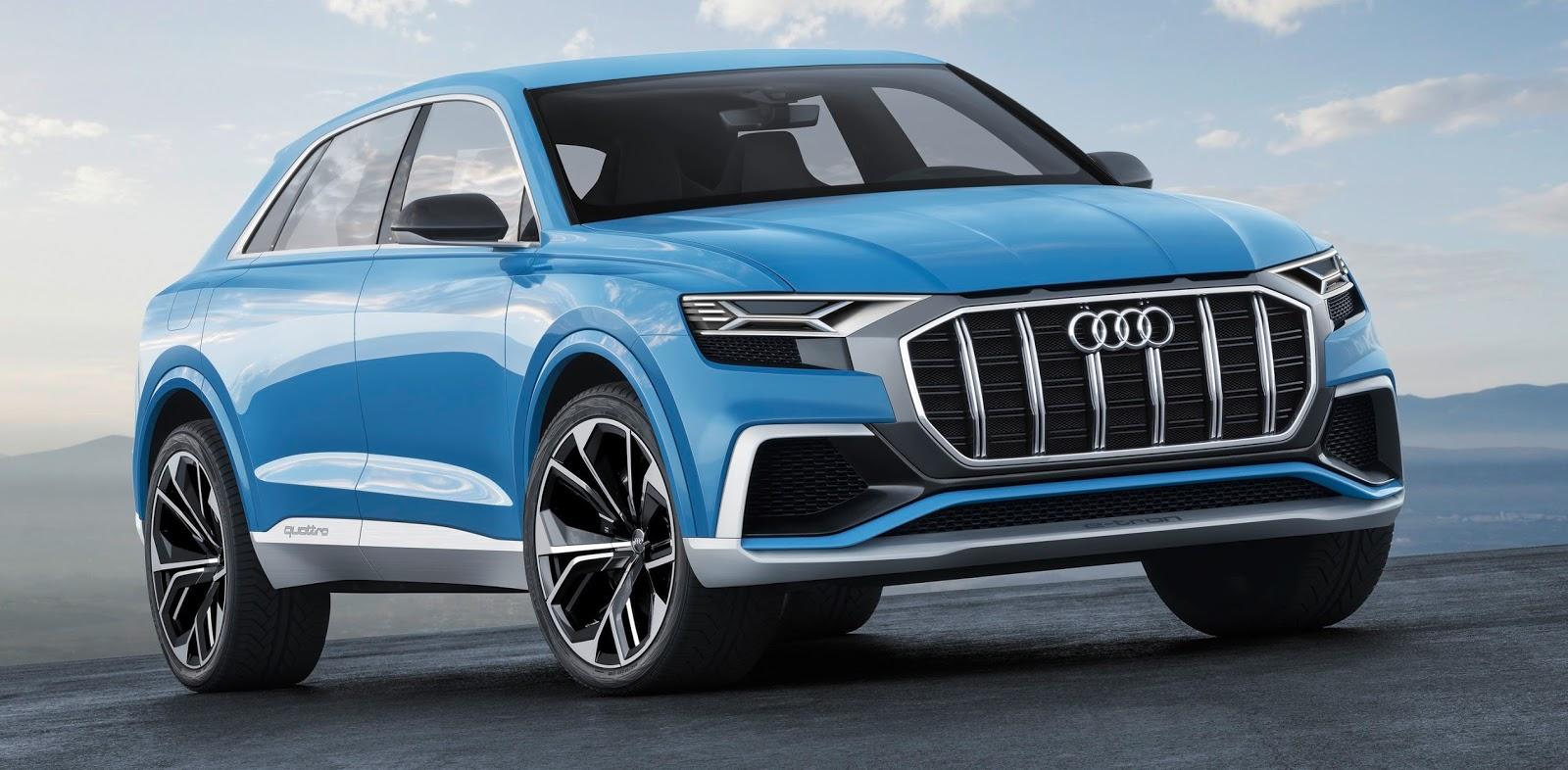 Audi Q8 Concept alia design original à tecnologia de ponta no Salão de Detroit