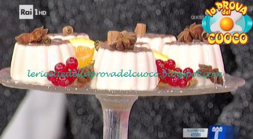 Panna Cotta natalizia ricetta Romani da Prova del Cuoco