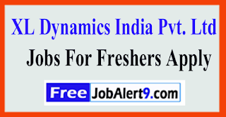XL Dynamics India Pvt. Ltd. Recruitment 2017 Jobs For Freshers Apply