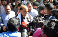 Assam Flood Situation: Home Minister Rajnath Singh conducts aerial survey