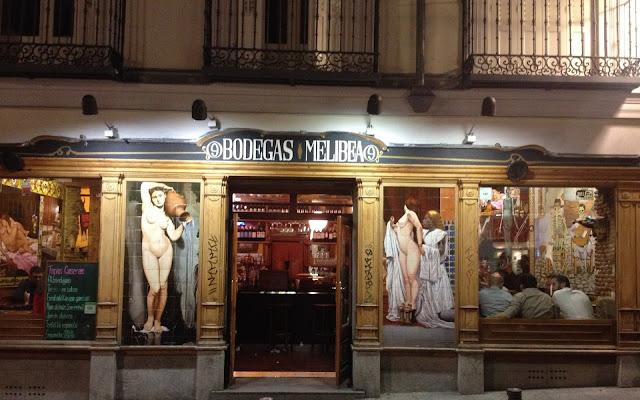 Madrid - keskustan ravintolat ja baarit