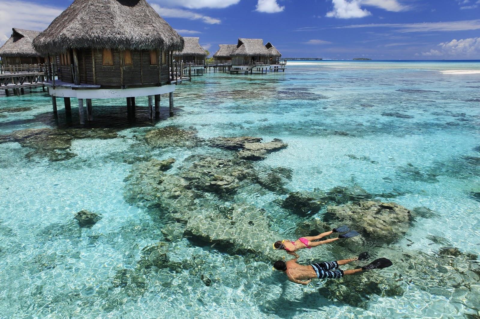 Tikehau Island,French Polynesia HD Background