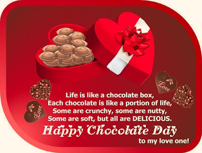 Great Chocolate Day Messages