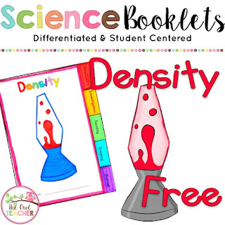 Explore density by making lava lamps with this engaging science booklet for free!
