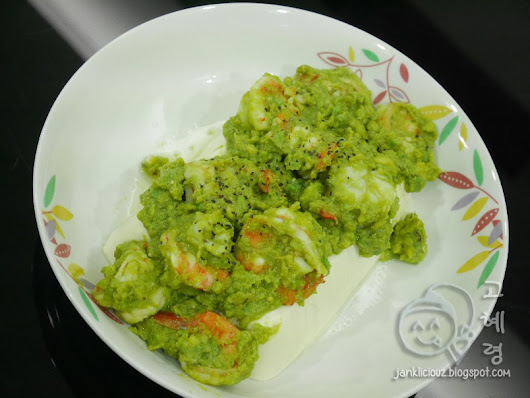 Recipe Edition: Avocado Lemon Prawn with Tofu