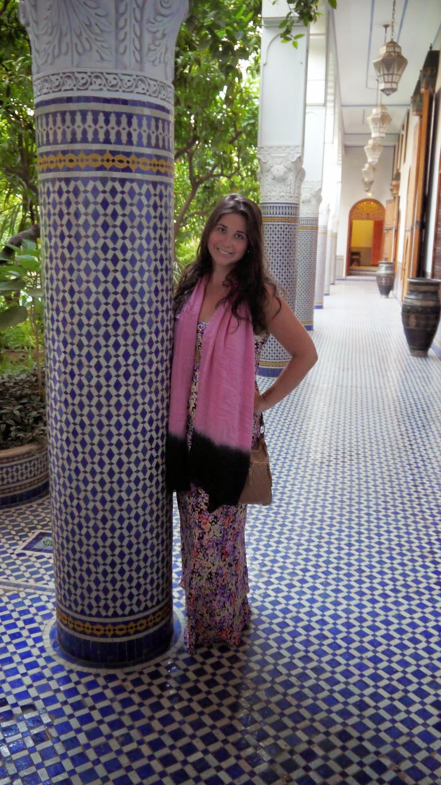 Simone in Palais Amani