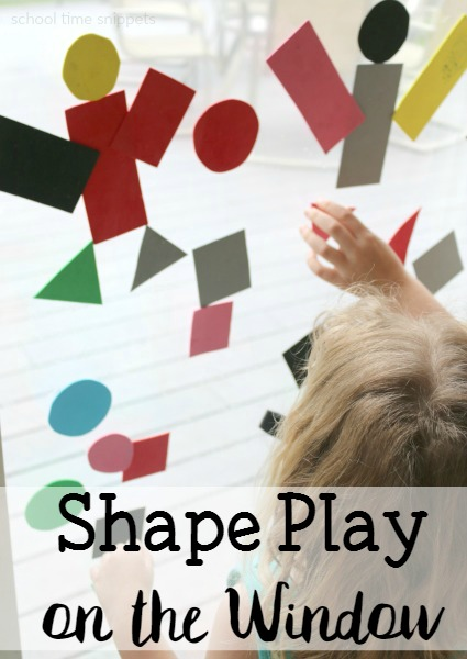 simple shape toddler activity
