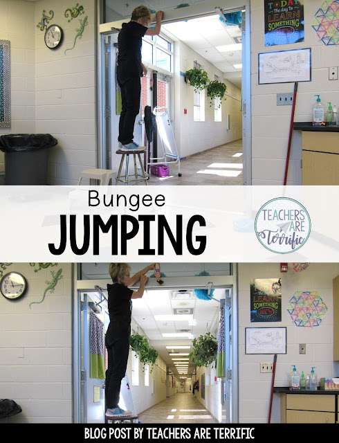 It's a Bungee Jumping STEM Challenge! This one is full of math and testing and using data and kids LOVE it!