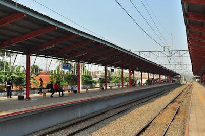Alamat Stasiun Depok Lama