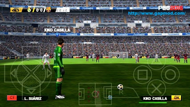 Game PES 2016  Android PPSSPP CSO Terbaru 2016