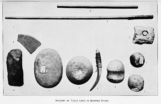 Basic stone age tools used to make other tools; these tools used to shape stone.