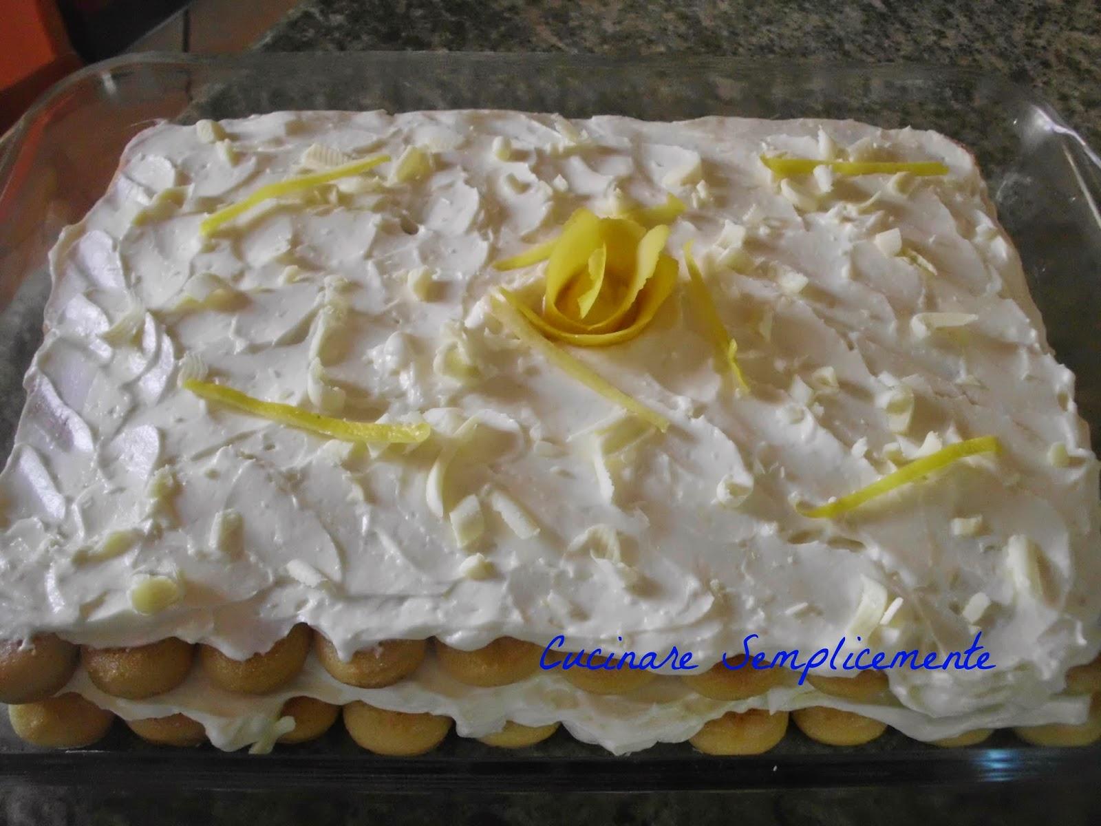 Cucinare semplicemente tiramisu 39 al limone for Cucinare estate