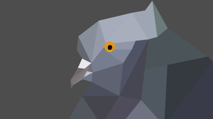 Wallpaper: Low Poly Dove
