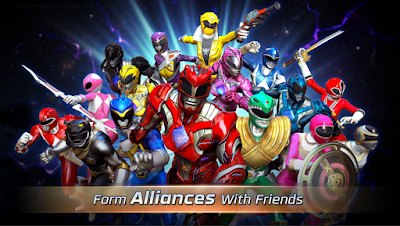 Download Mod Game Power Rangers Legacy Wars APK