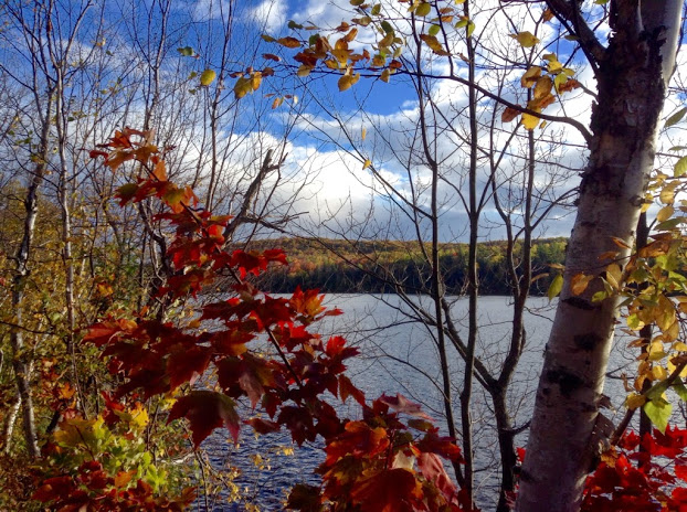 Paugh Lake, Ontario. October 2014