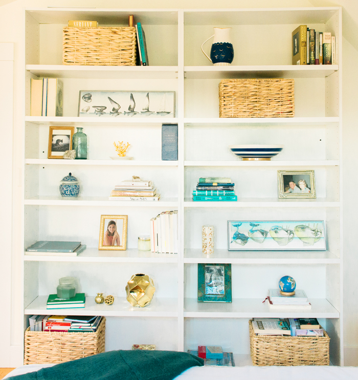 Havenly shelf styling
