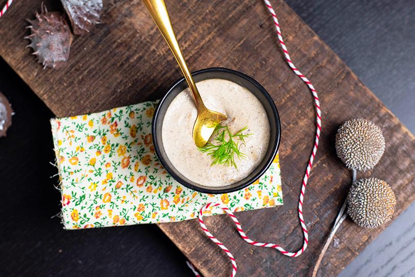 recette Sauce champignon vegan