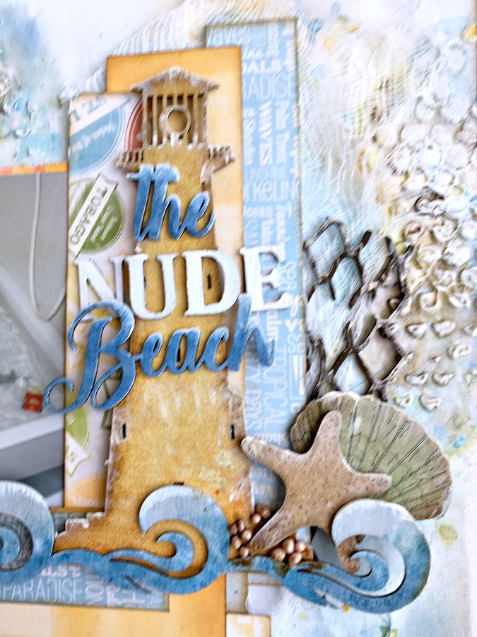 Nannes Creations: The Naked Beach layout-CE monthly challenge