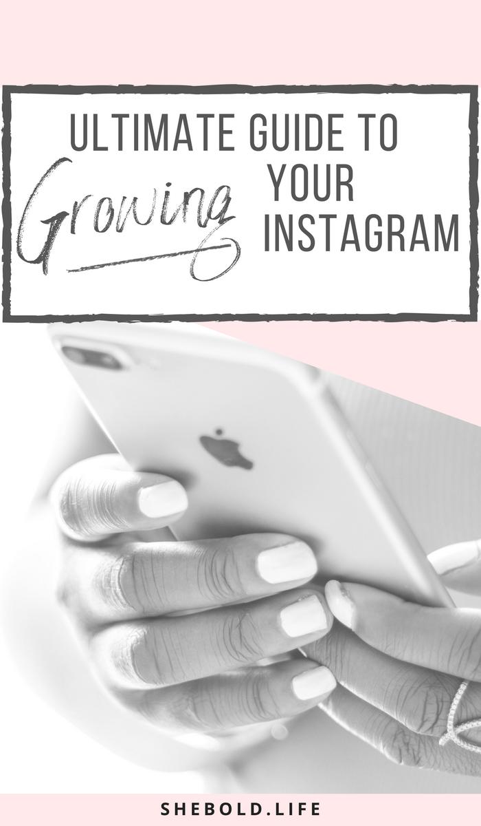 Growing instagram followers