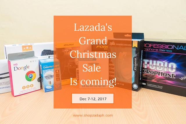 Lazada Online Revolution 2017 - Lazada Grand Christmas Sale