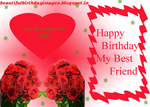 image on happy birthday my dear friend