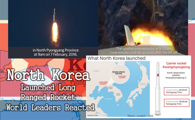 North Korea Launched Long Ranged Rocket World Leaders Reacted