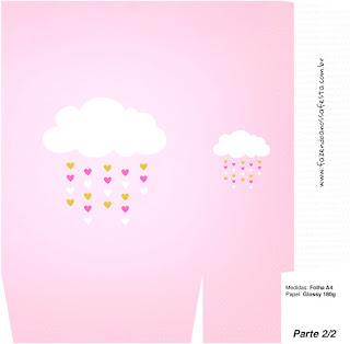 Cajas de Lluvia de Bendiciones para Nena para imprimir gratis.