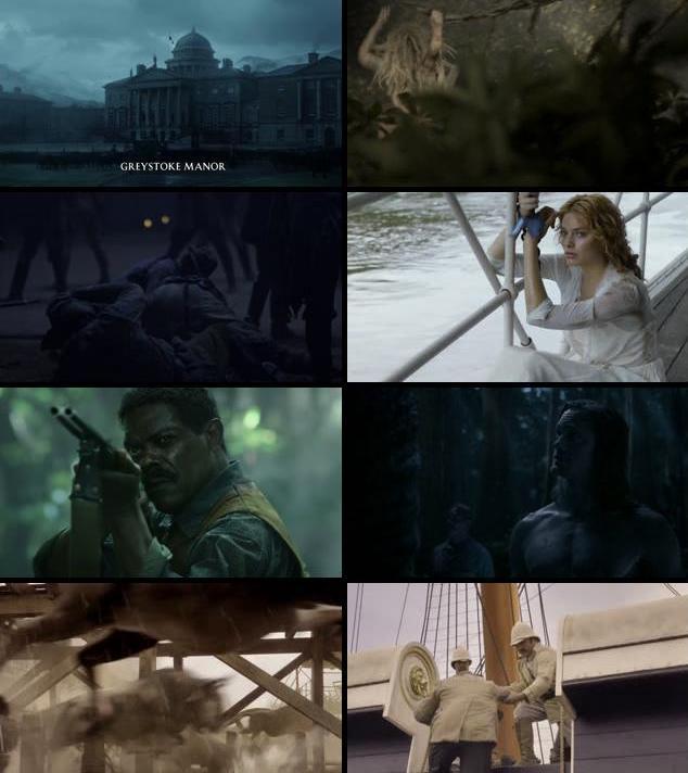The Legend Of Tarzan 2016 Dual Audio ORG Hindi 720p BluRay