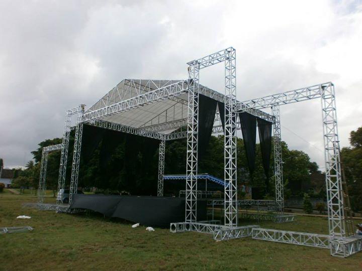 Hasil Karya Produksi Panggung Rigging Stage Tenda Konser Surabaya