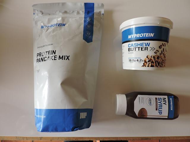 ricetta per preparare pancakes proteici con myprotein