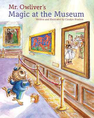Mr. Owliver's Magic at the Museum - Mr. Owliver is a night watchman at the Animaltown Art Museum. He loves his job and loves spending time with the famous masterpieces, especially since there are no lines to see the paintings at night. On his birthday, Mr. Owliver discovers something shocking - the animals in the paintings are missing! Where could they have gone? Mr. Owliver must find out!