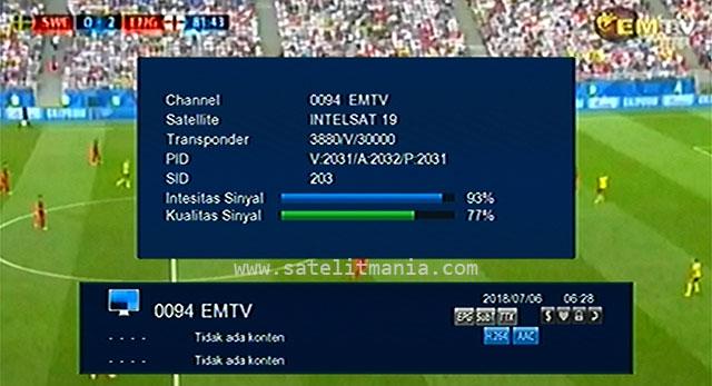 Channel EMTV Menyiarkan Final Piala Dunia 2018 Rusia