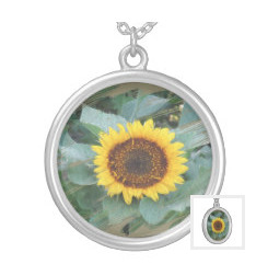 Sunflower Necklace Jewelry #fashionista