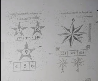 Thai Lottery 2nd Paper For 16-10-2018